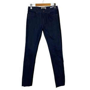 Naked & Famous Womens The Skinny Indigo Black Power Stretch Two Tone Jeans US 28